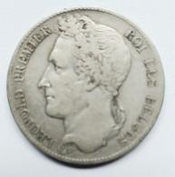 5 Francs LEOPOLD Ier 1849 Tête Laurée - 11. 5 Francs