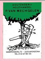 Sticker - P. VAN MECHGELEN - Wampenberg Arendonk - Autocollants