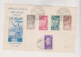 SYRIA  1957 Nice FDC Cover - Syrie