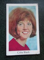 TRADE CARD - CILLA BLACK   D-0133 - Ohne Zuordnung