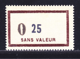 FRANCE FICTIF N° F137 ** MNH Neuf Sans Charnière, Valeur Modifiée Pour Passage Au Nouveaux Francs, TB - Ficticios