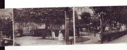 83( 13A ) CPA En 3 Volets  Veules Les Roses Jardin Du Grand Hôtel Des Bains - Veules Les Roses