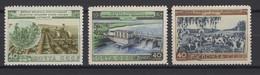 Russie 1954: TP Y&T N° 1701/03 Dentelés **, MNH . - Neufs