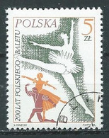 Pologne YT N°2816 Ballets Polonais Oblitéré ° - Usados