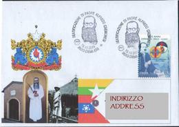 Italia Crema Cremona 2019 Padre Alfredo Cremonesi Birmania Burma Myanmar Ospedale S.Croce Cuneo ANN00078 - Christianity