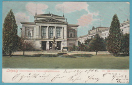 Leipzig. Concerthaus U. Universitätsbibliothek. 1904 - Leipzig