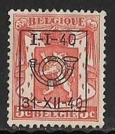 België Typo Nr. 438 - Sobreimpresos 1936-51 (Sello Pequeno)