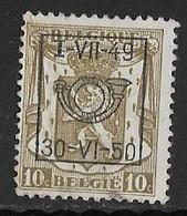 België Typo Nr. 595 - Sobreimpresos 1936-51 (Sello Pequeno)