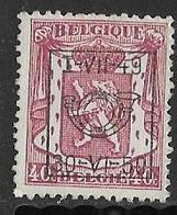 België Typo Nr. 597 - Sobreimpresos 1936-51 (Sello Pequeno)