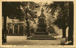 CPA -  BESANCON - PROMENADE GRANVELLE - MONUMENT VEIL-PICARD (IMPECCABLE) - Besancon