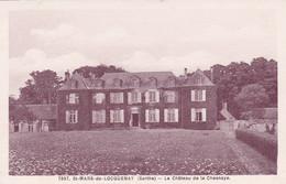72 - Sarthe -  SAINT MARS  De LOCQUENAY - Le Chateau De La Chesnaye - Other Municipalities