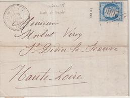 "FRANCE : GC 2060 . "" LIVET ET GAVET  "" . (37) . N° 60 . 1874 . - 1849-1876: Klassieke Periode"