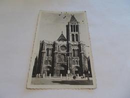 SAINT DENIS ( 93 Seine Saint Denis ) LA BASILIQUE  ANIMEES  1946  NOMBREUX TIMBRES - Saint Denis
