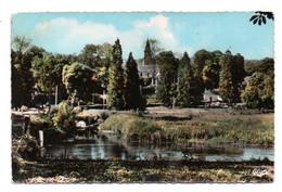 Carte Postale Moderne - Format CPA - Circulé - Dép. 27 - BADEPONT - Vue Sur L' ANTIELLE, église - Altri Comuni
