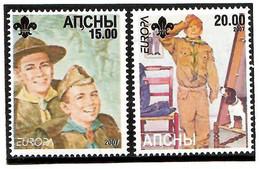 Abkhazia . EUROPA CEPT 2007 (Scouting). 2v:15,20 - 2007