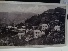 Cartolina   Costa Di Pino E Torrazza Ferrovia Elettrica Genova Casella 1938 - Genova (Genoa)