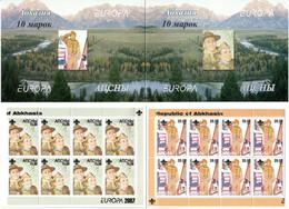 Abkhazia . EUROPA CEPT 2007 (Scouting). Booklet. - 2007