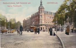 4842418Amsterdam, Stadhouderskade Café Parkzicht Met Ingang Vondelpark Met Tram Lijn 2.(zie Hoeken) - Amsterdam