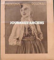 1934 Journal A LA PAGE - PRINTEMPS POLONAIS - VOGUER AU FIL DE L'EAU - TROP DE BACHELIERS - ECOLE SAINTE MARIE - 1900 - 1949