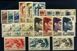 Oceanía Nº 182/200. Año 1948 - Ungebraucht