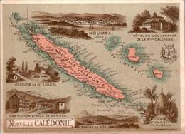 Chromo Nouvelle Calédonie île Territoire Français Pacifique Sud Saint-Louis Nouméa Kanala Boural Tipindie Gatope Ouvéa - Altri