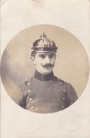 PORTRAIT DE SOLDAT ARGENTIN AVEC CASQUE, ARGENTINE SOLDIER WITH HELMET. CARTE POSTALE CIRCA 1910's.- LILHU - Autres