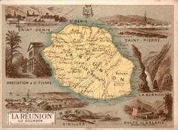 Chromo Département Français Île De La Réunion Océan Indien Île Bourbon La Bernica Saint-Pierre Saint-Denis Salazie B.E - Altri