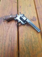 Rare Revolver De Transition En Calibre 9mm/380 - Armi Da Collezione