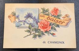 S1436 - Un Baiser De CHAMONIX - Haute Savoie - Chamonix-Mont-Blanc