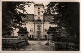 ++ Alte Ansichtskarte Peterswaldau Im Eulengebirge, Schloß, Schlesien, 1936 - Schlesien