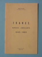 """LIVRE """" CATALOGUE De FRANCE DES BUREAUX AMBULANTS 1845 - 1965 """" Par POTHION (28 PAGES) - Frankreich"""
