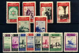 Marruecos Español Nº 291/304. Año 1948/49 - Marruecos Español