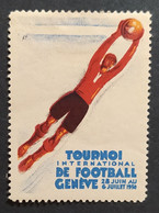 SUISSE / Tournoi International De Football / GENEVE 1930 - Sports