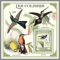 TOGO 2021 MNH Hummingbirds Kolibris Colibris S/S - IMPERFORATED - DHQ2129 - Hummingbirds