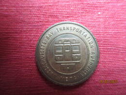 USA: Token Massachusetts Bay Transportation - Professionali/Di Società