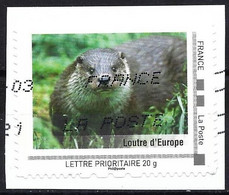 France 2021 - Faune : Loutre - Montimbramoi Lettre Prioritaire 20 Gr - Personalizzati (MonTimbraMoi)