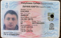 Serbian ID Card, Identity Card, Personal Document - Documents Historiques