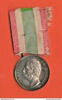 ITALIA Medaglia Argento X Unità D'Italia 1848 - 1870 Zecca Di Roma Re Umberto I° - Avant 1871