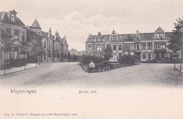 4822368Wageningen, Bowles Park Rond 1900.(minuscule Vouwen In De Hoeken) - Wageningen