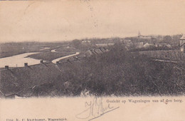 4822460Wageningen, Gezicht Op Wageningen Van Af Den Berg. (poststempel 1904) - Wageningen