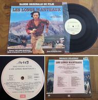 """RARE French LP 33t RPM (12"""") BOF OST """"LES LONGS MANTEAUX"""" (Bernard Giraudeau P/s, 1986) - Soundtracks, Film Music"""