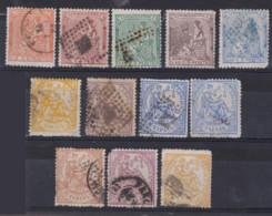 1873 - 74  LOTE ALGORIAS USADOS - Used Stamps
