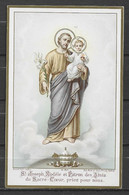 Image Pieuse Bouasse Lebel N° M 201  St Joseph... - Devotieprenten