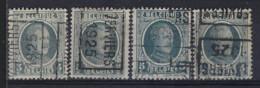 HOUYOUX Nr. 193 Voorafgestempeld Nr. 3613  A + D  Verviers 1925 ; Staat Zie Scan ! - Rolstempels 1920-29