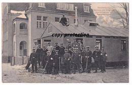 Neidenburg, Baracke Des Johanniter Krankenhauses Mit Sanitätskolonne, Alte Postkarte 1915, Nidzica - Pologne