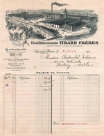 Facture - NOGENT-le-ROTROU - Ets TIRARD Frères ... - 1934 - Lot De 2 Docs - Altri