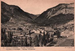 CPSM - VALLS D'ANDORRA - ENCAMP - Vue Gale - Edition Claverol  (affranchissement TP) - Andorre