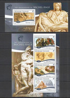 TG163 2015 TOGO TOGOLAISE ART FAMOUS PEOPLE 540TH ANNIVERSARY MICHEL-ANGE MICHELANGELO KB+BL MNH - Other