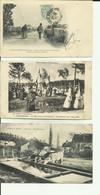 70 - Haute Saonel - Lot De 3 Cartes - Vitrey -Vaches à L' Abreuvoir - Suaucourt Monument -Hte. Saone Pittoresque - - Otros Municipios