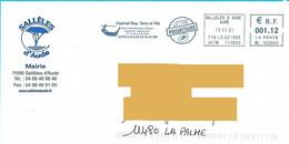 EMA ML 102640 Aude Flamme Mairie Sallèles D'Aude Joutes Languedociennes Vin - EMA (Print Machine)